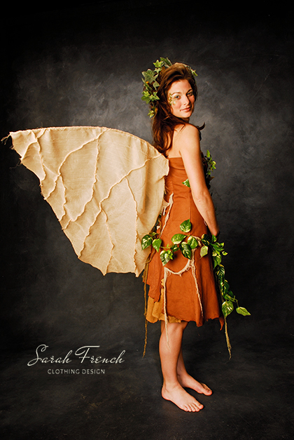 woodland fairy with wings