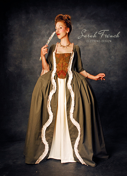1700s French Court Dress